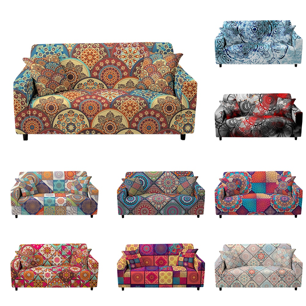 couch cover sofas covers universal stretch elastic couch covers for living room sectional corner l shape sofa cover 18 colors Bohemian Mandala Sofa Covers for Living Room Sectional Corner Sofa Cover Elastic Couch Cover L Shape Sofa Slipcover Home Decor