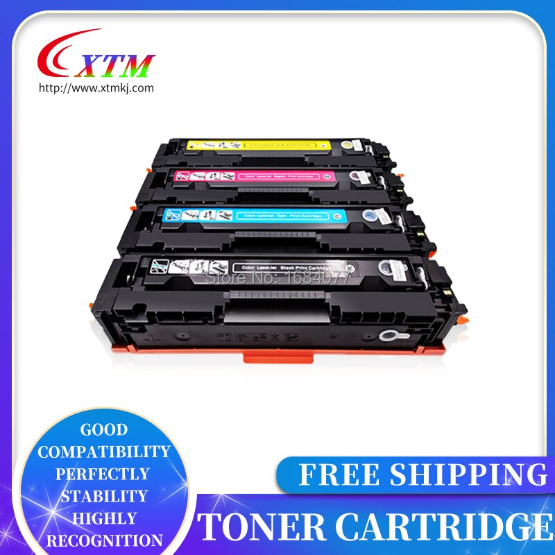 Toner Cartridge 416A (Met Chip) w2040A W2041A W2042A W2043A Voor Hp Color Laserjet Pro M454 M479 Printer Laser Toner Cartridge