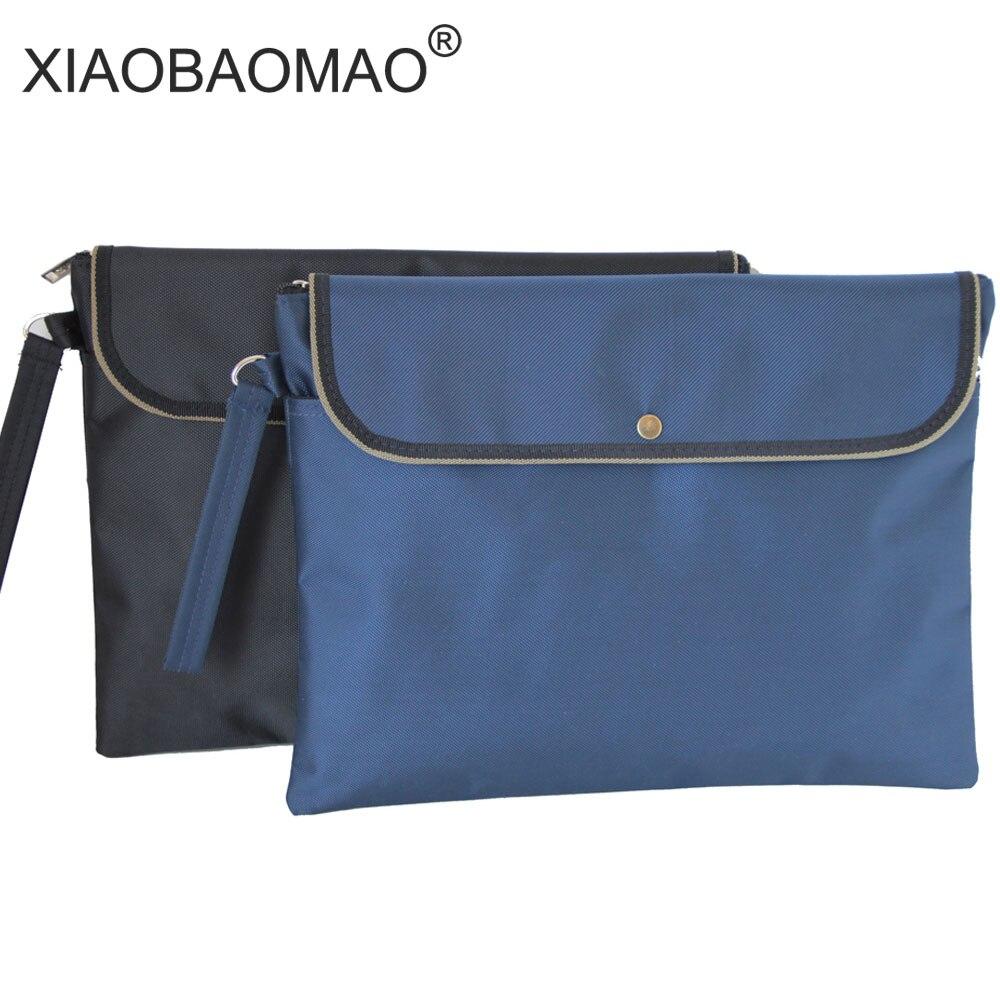 Сумка для документов XIAOBAOMAO A4, офипосылка сумка для совещаний, органайзер для документов, папка для документов