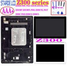 Para Asus Zenpad 10 Z300 Z300M P00C Z300CNL P01T Z301ML Z301MFL P00L Z300C P023 pantalla LCD de montaje de digitalizador con pantalla táctil marco