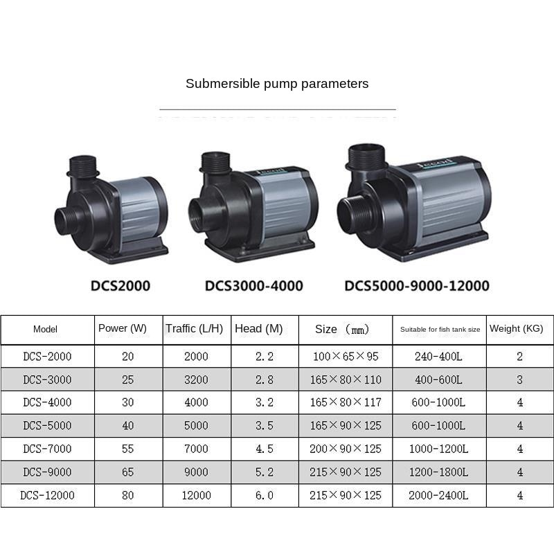 JEBAO DCS 2000-12000l/h Eco DC Pump: Water dispensing & Wave making.JEBAO fish tank inverter submersible water pump ECO DC pump  - buy with discount