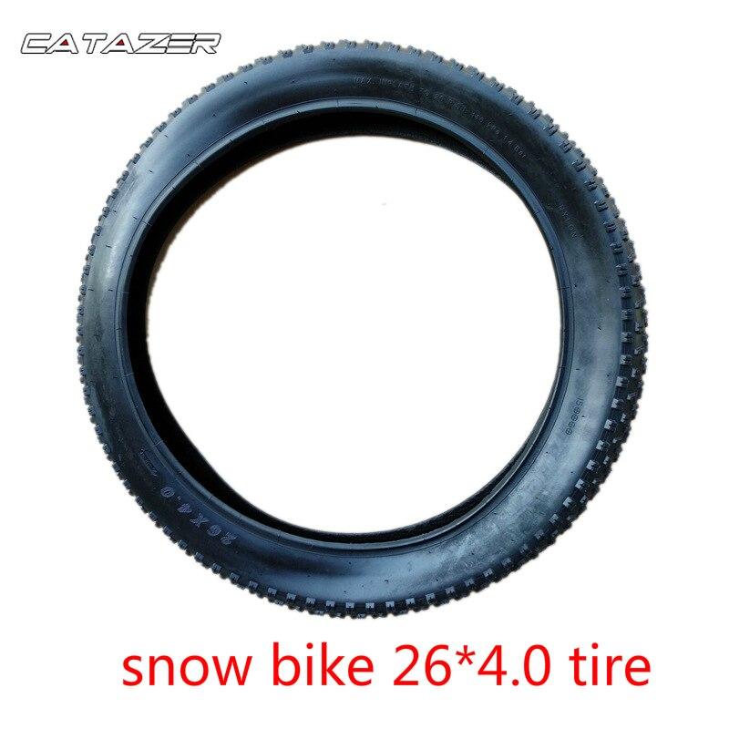Neumáticos de bicicleta de nieve 26*4,0, neumáticos de bicicleta con cuentas de alambre, accesorios de bicicleta, neumáticos de 26 pulgadas