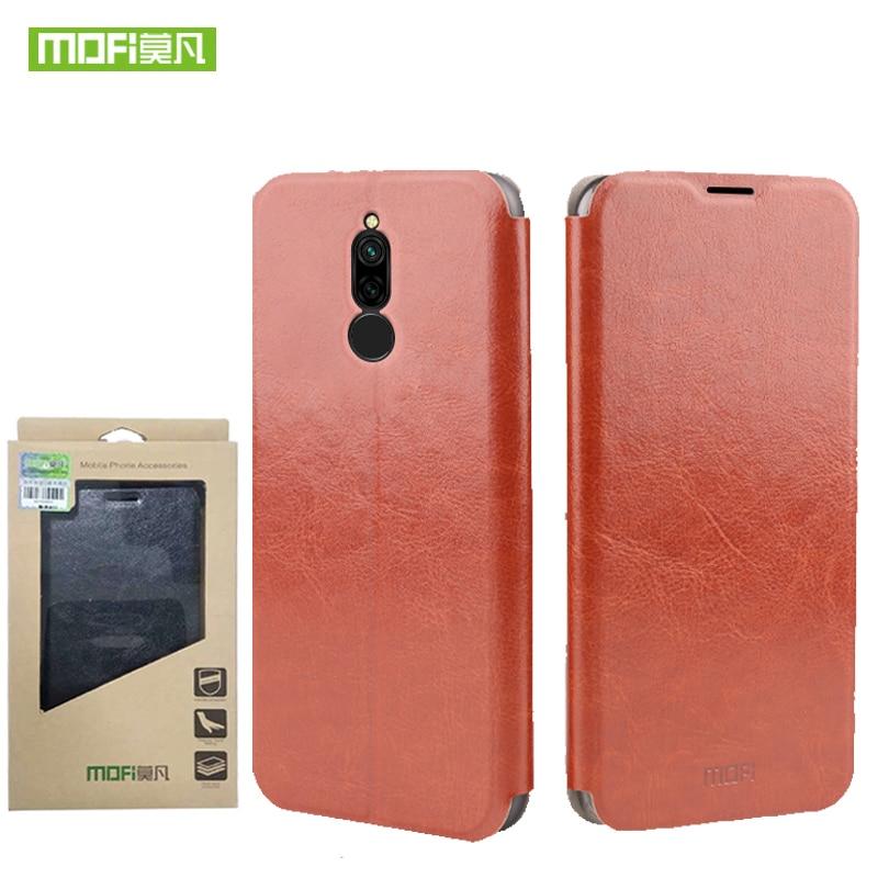 Para Redmi 8 funda Mofi moda Flip PU Funda de cuero para teléfono móvil para Xiaomi Redmi 8A funda de soporte para Redmi8 bolsa de teléfono