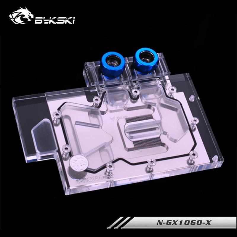 Bykski GPU bloque de agua para los fundadores GTX 1060 NVIDIA Quadro P2000 gamerock Premium Edition GTX 1060 amplificado tarjeta VGA refrigerador N-GX1060-X