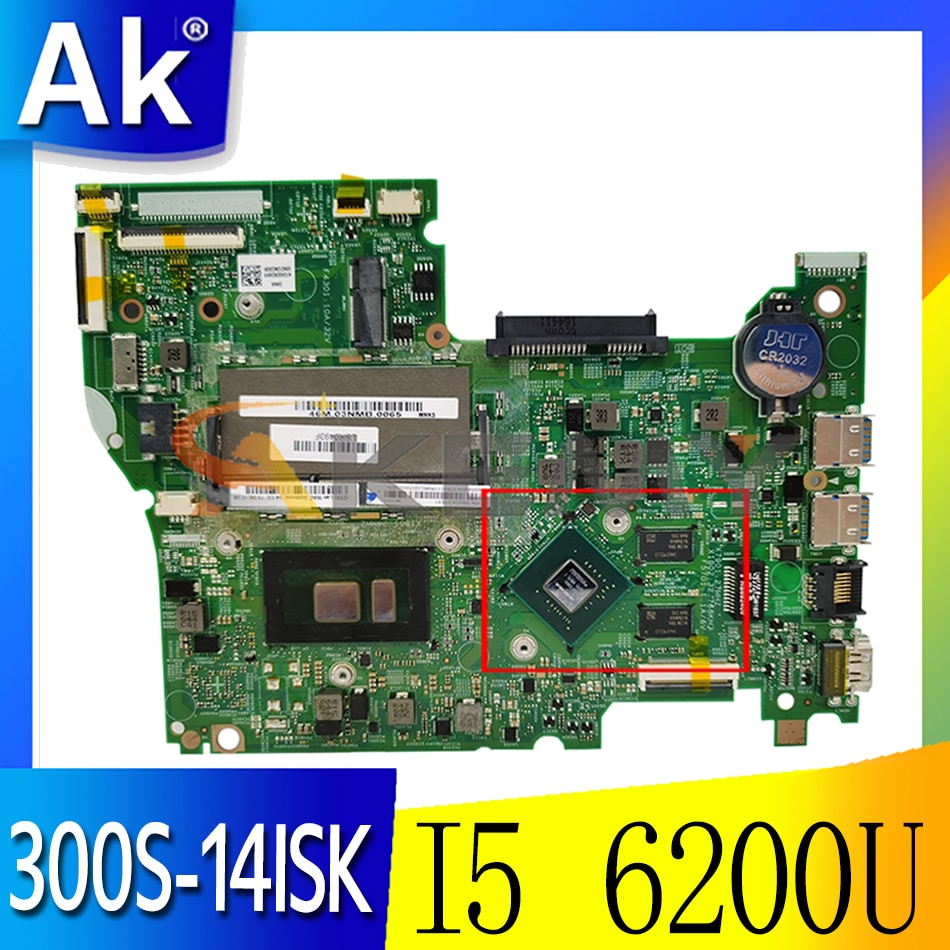 Akemy 14292-1 448.06701.0011 لينوفو 300S-14ISK 500S-14ISK اللوحة الأم للكمبيوتر المحمول CPU I5 6200U GPU GT940M 100% اختبار العمل