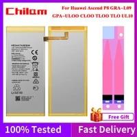 original phone battery for huawei ascend p8 gra l09ul00cl00tl00tl10ul10 2600mah capacity hb3447a9ebw replacement battery