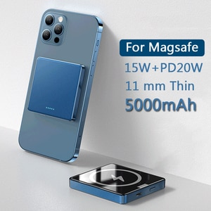 15W Magnetic Power Bank Fast Charger For Magsafe Wireless charging Portable Mobile phone Battery For iphone12 12Pro Max 12mini