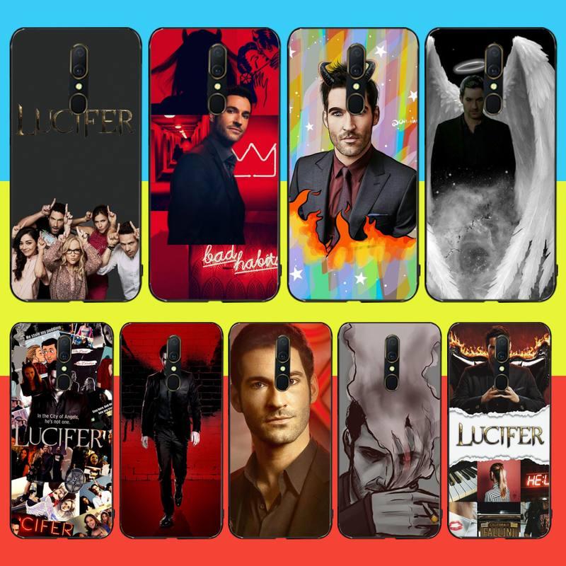 Funda de teléfono negro de TPU de PENGHUWAN Tom Potter Lucifer, funda para Oppo A5 A9 2020 Reno Z Realme5Pro R11