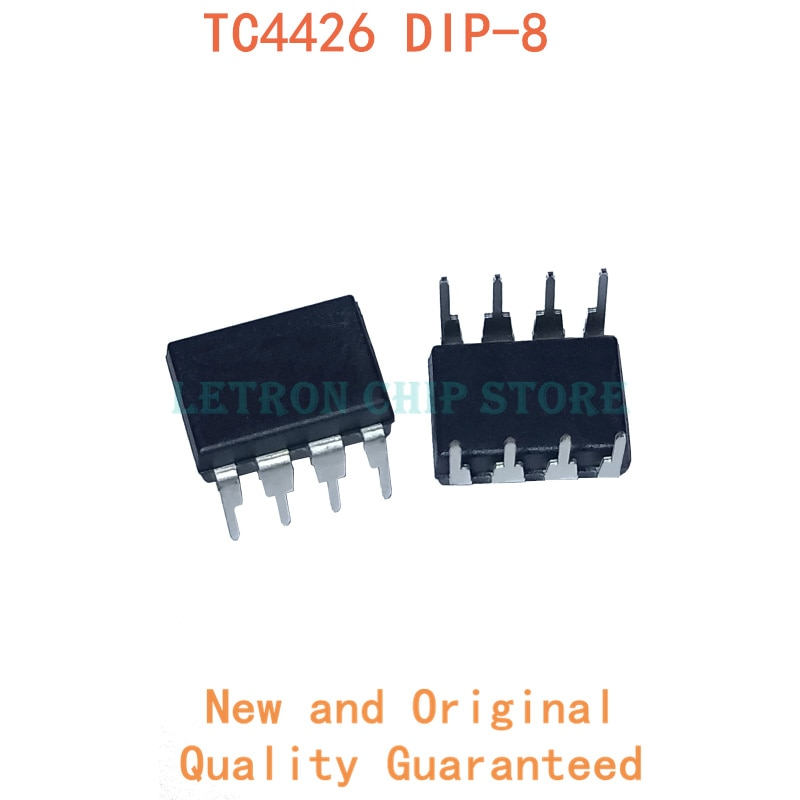 10 pces tc4426 dip8 tc4426cpa dip-8 tc4426epa dip novo e original ic chipset