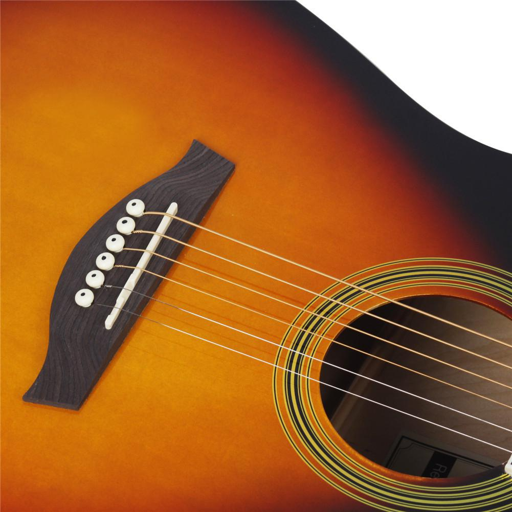 41Inches Basswood Electric Guitar Cutaway Bass Guitar Wooden Fingerboard Acoustic A Shape Guitar Musical Instrument enlarge