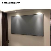 Проекционные экраны 72 84 100 120 дюймов 169 43 для XGIMI H1 H2 H1S Z6 Z5 Z3 JMGO J6S E8 UNIC UC40 UC46 Projetor