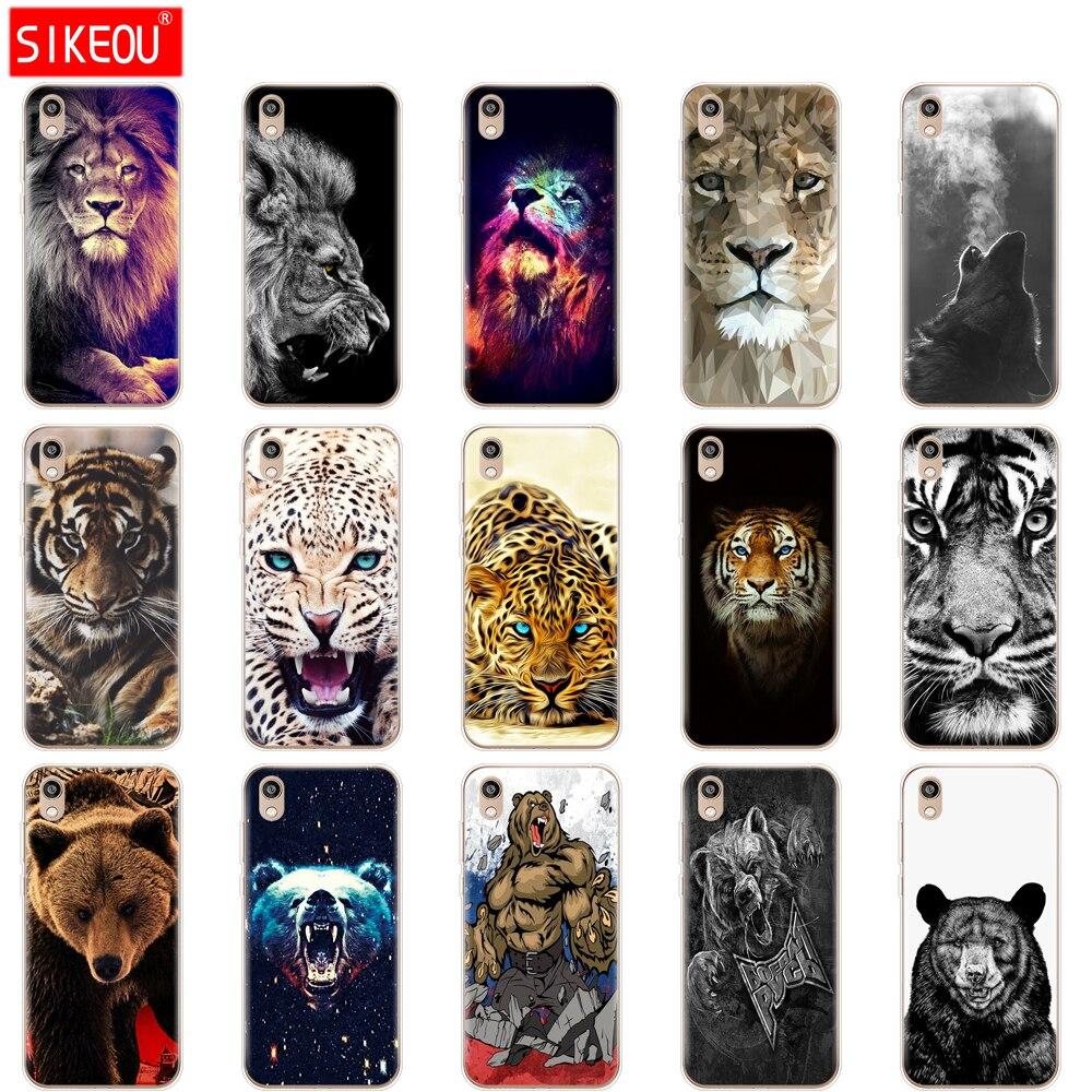 Pour Honor 8 S étui pour téléphone portable pour Huawei Honor 8 S Prime Honor8S 8 S 2020 étui KSE-LX9 5.71 loup tigre lion léopard ours