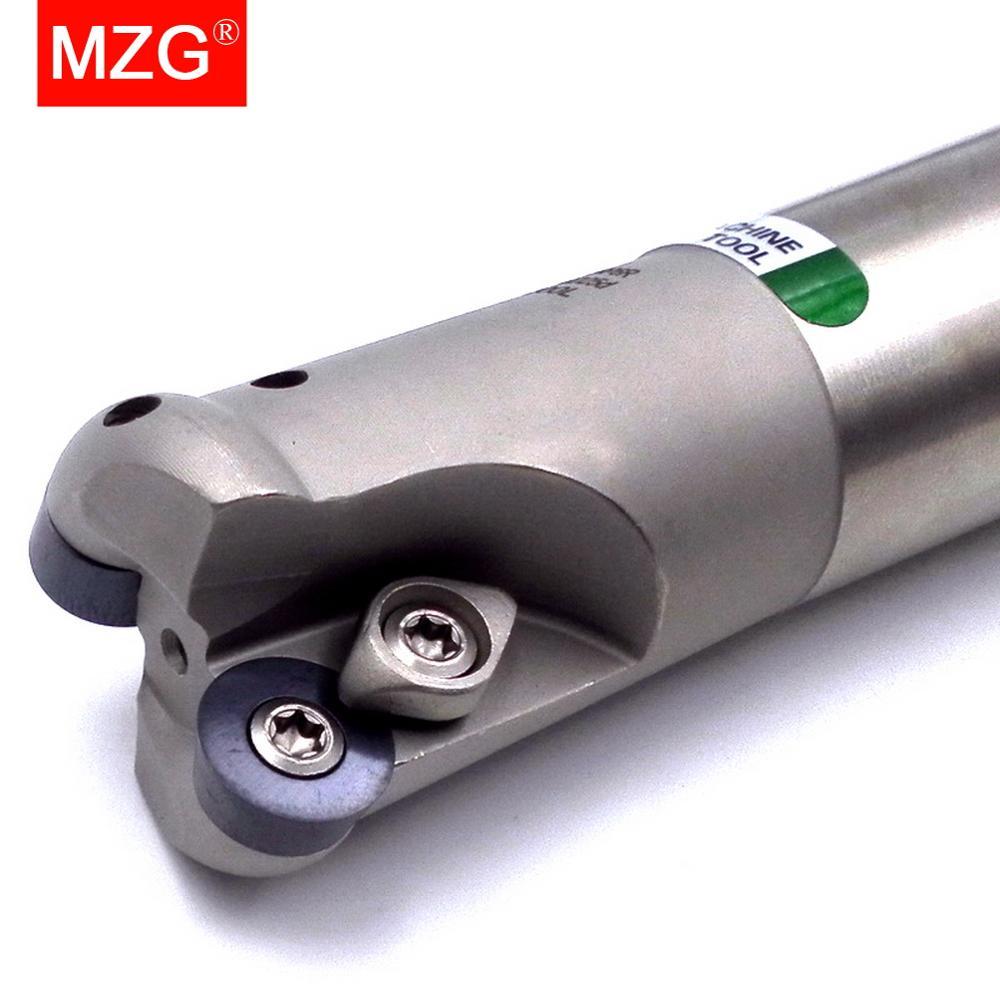 MZG TRS 25 مللي متر 32 مللي متر مستديرة الأنف أدوات RDMT RDMW كربيد إدراج آلة خرط تعمل بالتحكم الرقمي بواسطة الحاسوب نهاية مطحنة أربور قطع بالقطع الوجه...
