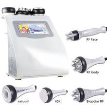 Cavitation ultrasonique de 40K RF amincissant la Machine de corps pour le Salon de beauté de soin du visage de rajeunissement de peau