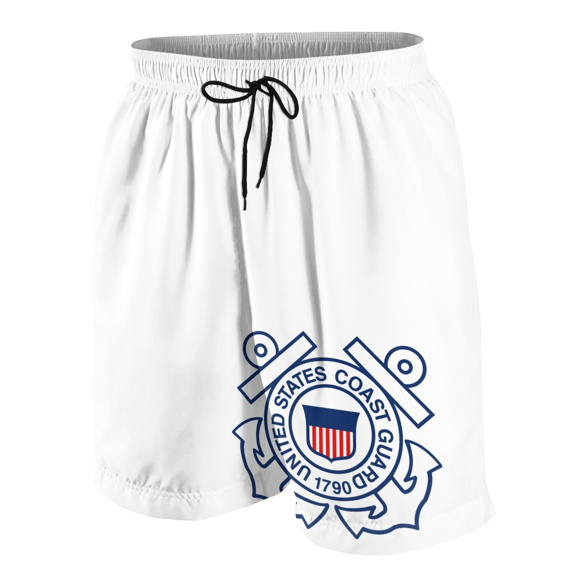 United States Coast Guard 1790 Teenagers Comfortable Fashion Fitness Joggers Quick-dry Cool Short Sweatpants