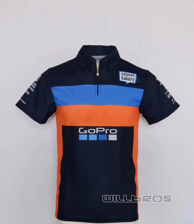 Camiseta Polo de carreras de Moto 2020 para equipo KTM