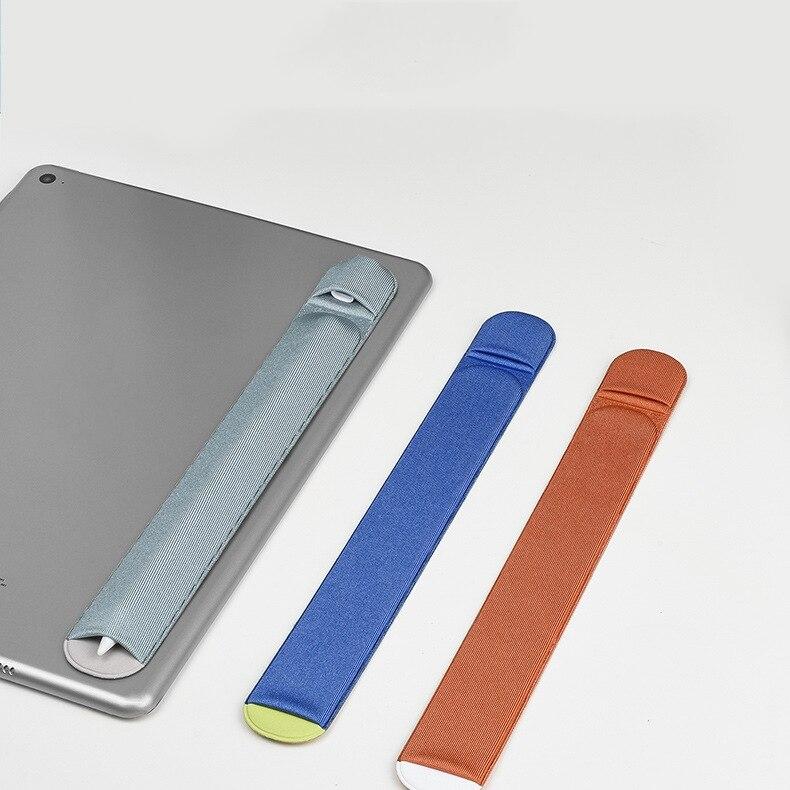 1 piezas adhesivo tableta suave lápiz titular manga para IPad protector lápiz caso cubierta Durable bolsa de 22*3cm accesorios Tablet