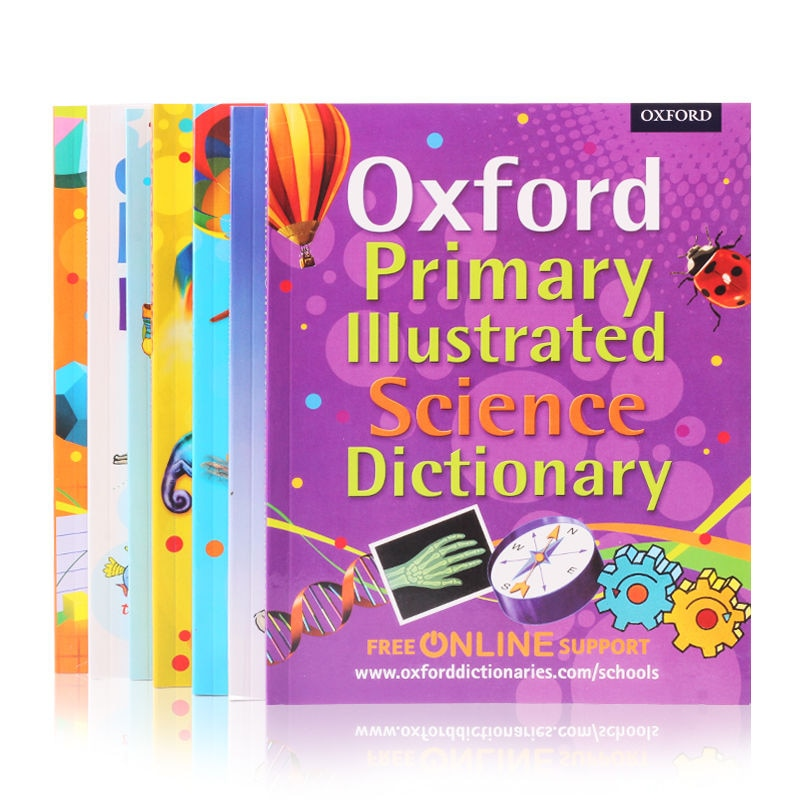 Фото - New2021 7 Books/set English Books Children's Enlightenment Picture Dictionary Oxford Very First Dictionary Junior Early Livros my first english pict dictionary the school