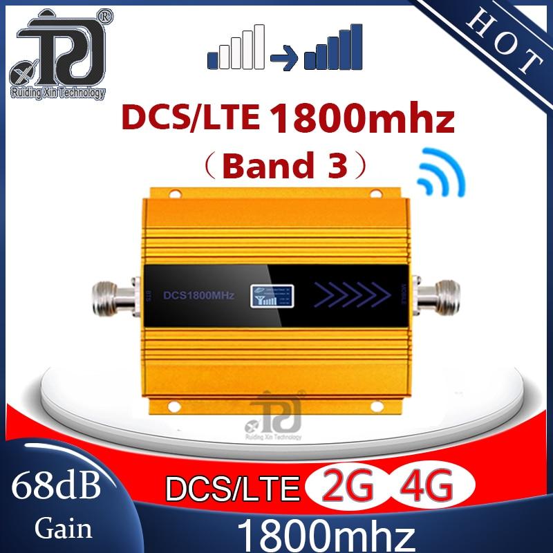 Amplificateur de Signal 2G/4G pour téléphone portable, répéteur GSM, 1800mhz, DCS, LTE1800