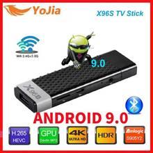 Smart Android 9.0 TV Box X96S TV Stick Amlogic S905Y2 DDR3 4GB 32GB X96 Mini PC 5G WiFi Bluetooth 4.2 TV Dongle 4K lecteur multimédia