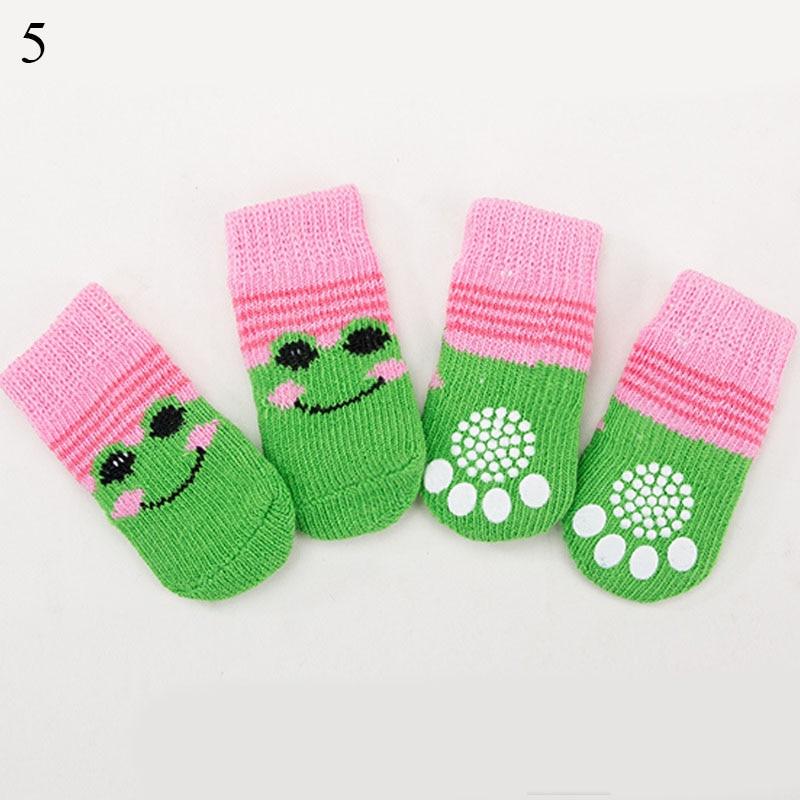 4бр топли обувки за кученца меки - Продукти за домашни любимци - Снимка 6