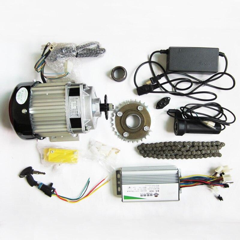 48 v500w ضوء المنزلية محرك عدة كهربائي فرش دراجة ثلاثية العجلات الكهربائية تحويل عدة