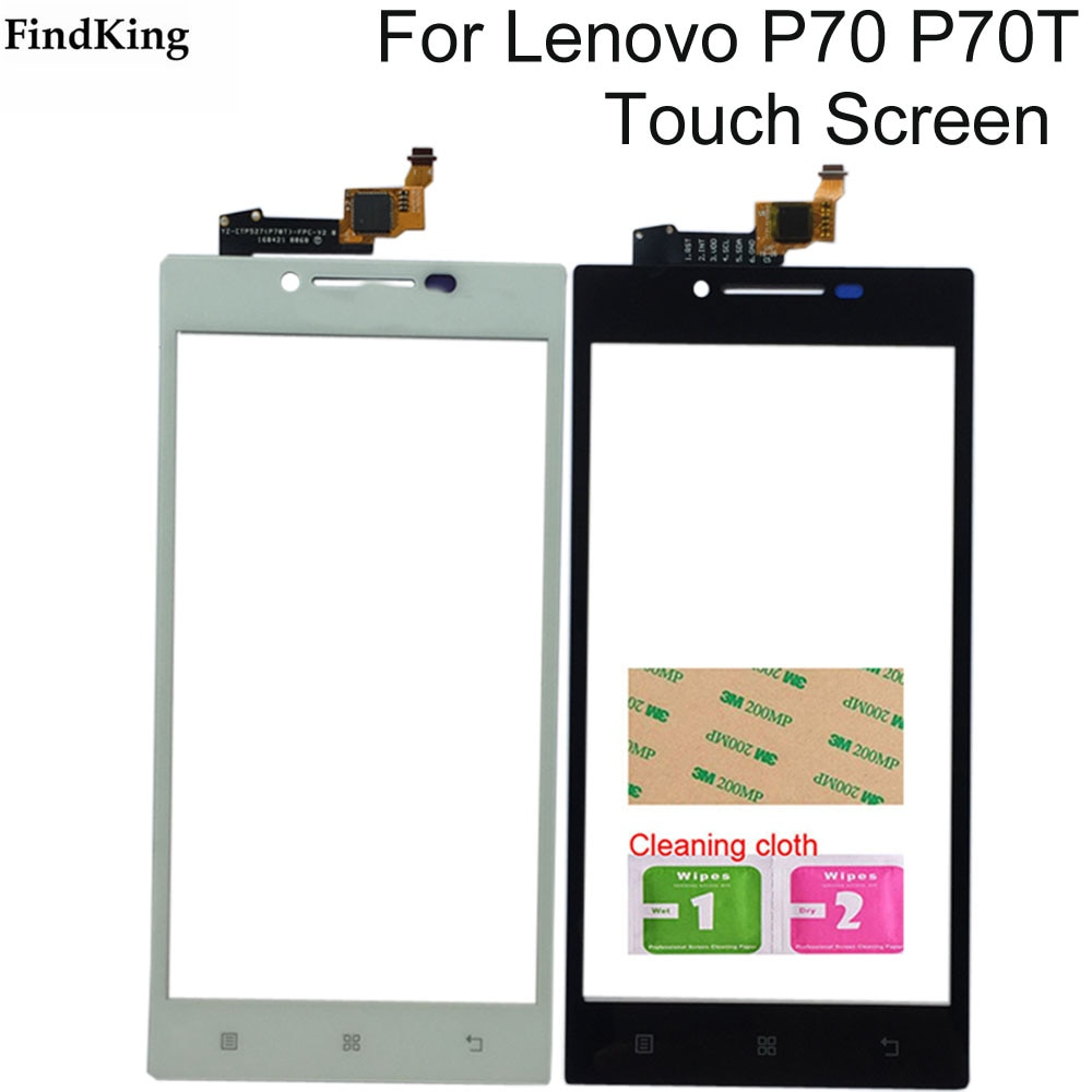 5'' Mobile Phone Touch Screen For Lenovo P70 P70T Touch Screen Glass Digitizer Panel Lens Sensor Too