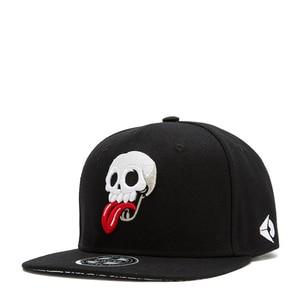 Men Women Snapback Summer Sport Sunscreen Punk Hip Hop Street Dance Adjustable Hat Skull Embroidery SunShade Baseball Cap R44