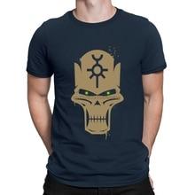 Camiseta de cruzada oscura con cuello redondo para hombre Camiseta Unisex con diseño de S-3xl a la moda