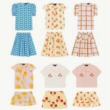Kids Shirts 2020 Tao Merk Nieuwe Lente Zomer Meisjes Mode Print Blouses Baby Kind Katoenen Tops Kleding