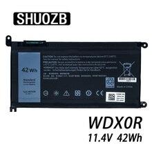 Laptop Battery WDX0R T2JX4 3CRH3 WDXOR for Dell Inspiron 13 5000 5368 5378 7368 14 7000 7560 7460 55