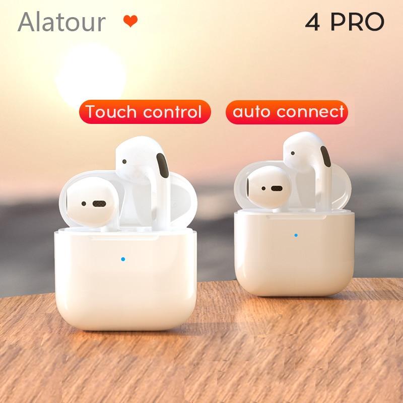 pro4 Bluetooth Earphones Mini Sports Headset Waterproof Earbuds Music Earpieces For Huawei Iphone Xiaomi Wireless Headphones