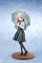 El Anime japonés poco Chica vampiro la próxima puerta Sophie Tweilait de PVC figuras de acción de juguete Anime paraguas chica Sexy juguetes 25cm