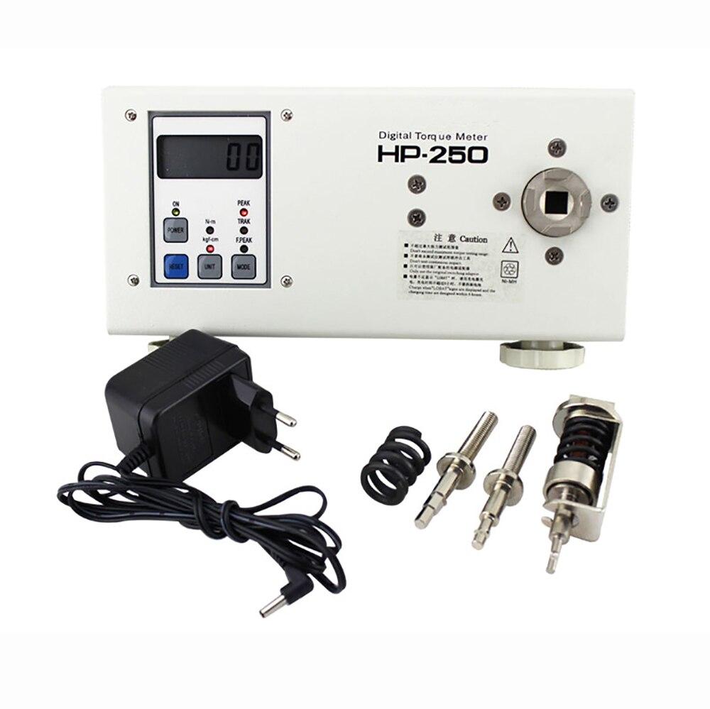 HP-250 דיגיטלי מומנט Tester תעשייתי מברג ברגים מומנט מטר 250KG דיוק ±0. 5% Fs Y