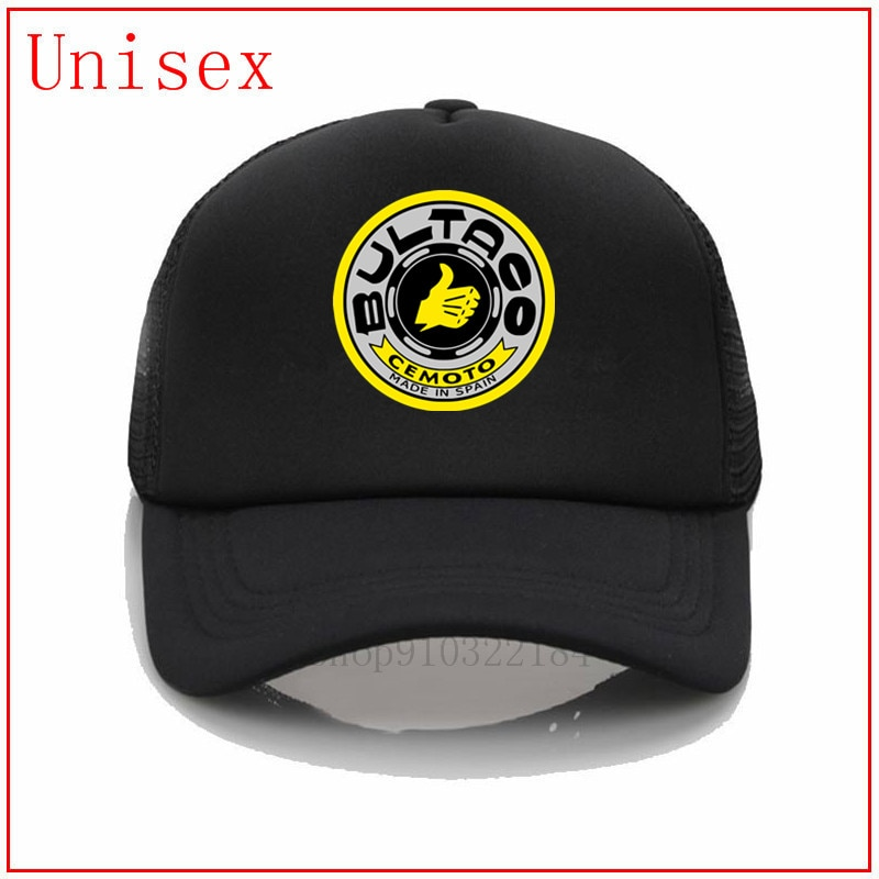 Bultaco Pursang preto vida importa seu logotipo aqui chapéus best selling 2020 chapéus de verão para as mulheres onda cap para homens chapéu equipada