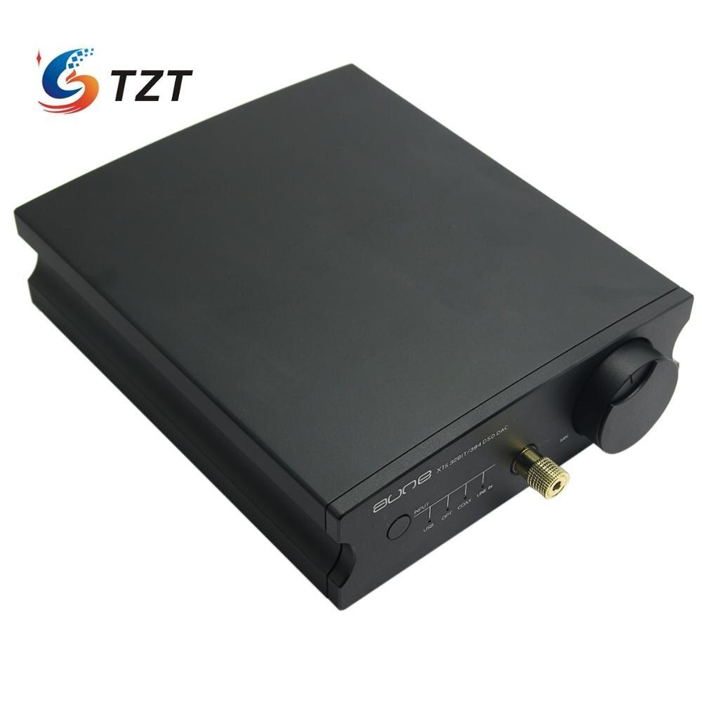 Aune X1S 32BIT/384 DSD128 ESS9018K2M interfaz USB amplificador de decodificación de amplificador de Audio-plata/negro libre DHL/TNT/EMS