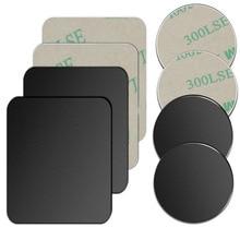 Metal Plate Disk For Magnet Car Phone Holder iron Sheet Sticker For Magnetic Mobile Phone Holder Car