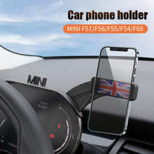 Держатель для телефона на приборную панель автомобиля, подставка с креплением GPS для iPhone, поддержка телефона, миниатюрные медные аксессуары...