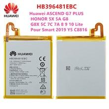 100% Orginal HB396481EBC batterie Für Huawei ASCEND G7 PLUS HONOR 5X 5A G8 G8X 5C 7C 7A 8 9 10 lite Gießen Smart 2019 Y5 C8816
