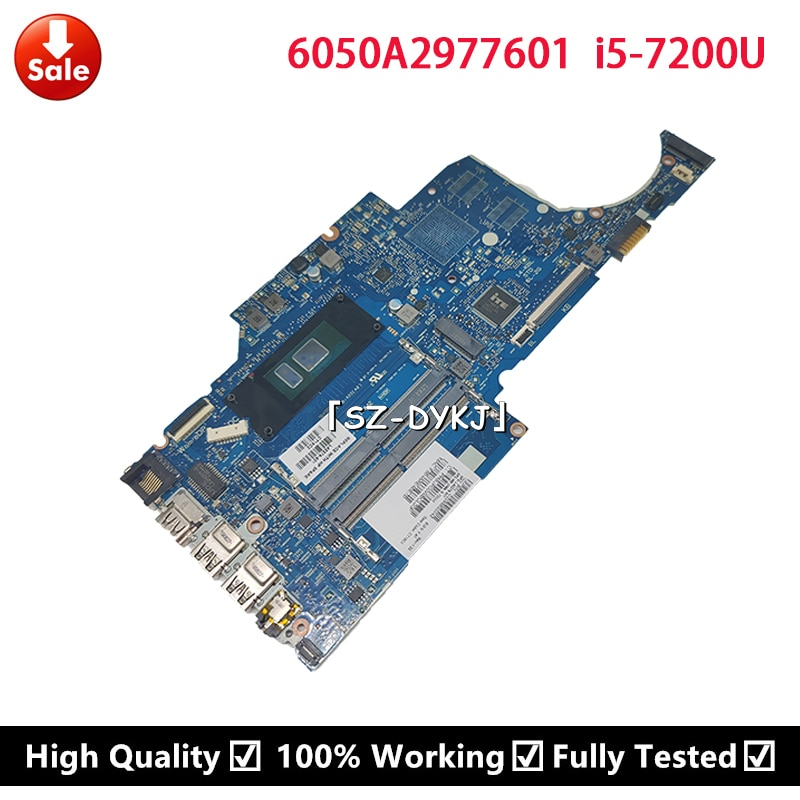 ل HP جناح 14-CK 14-CK0518SA اللوحة المحمول I5-7200U CPU L42279-001 L42279-601 l42808-601 6050A2977601 اللوحة