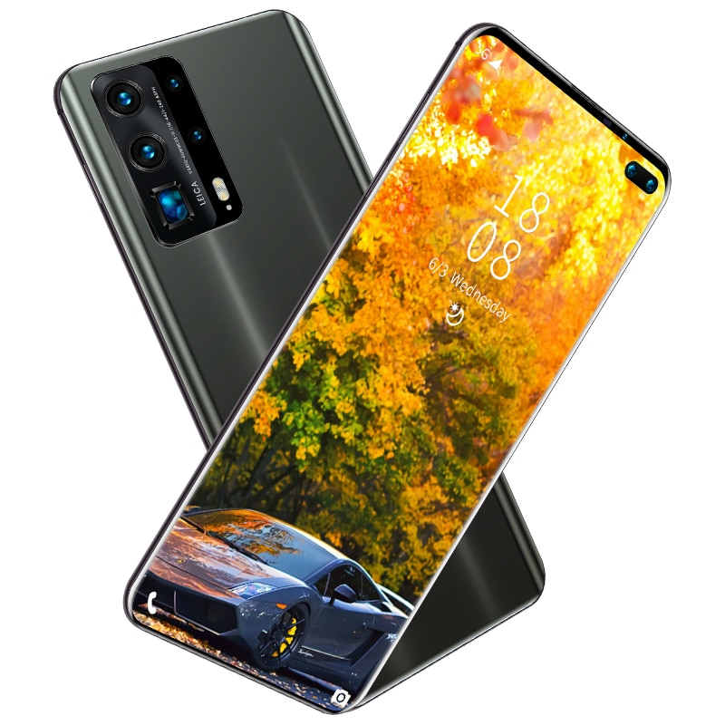 2021 New P45 Pro Smartphone Android  6.3