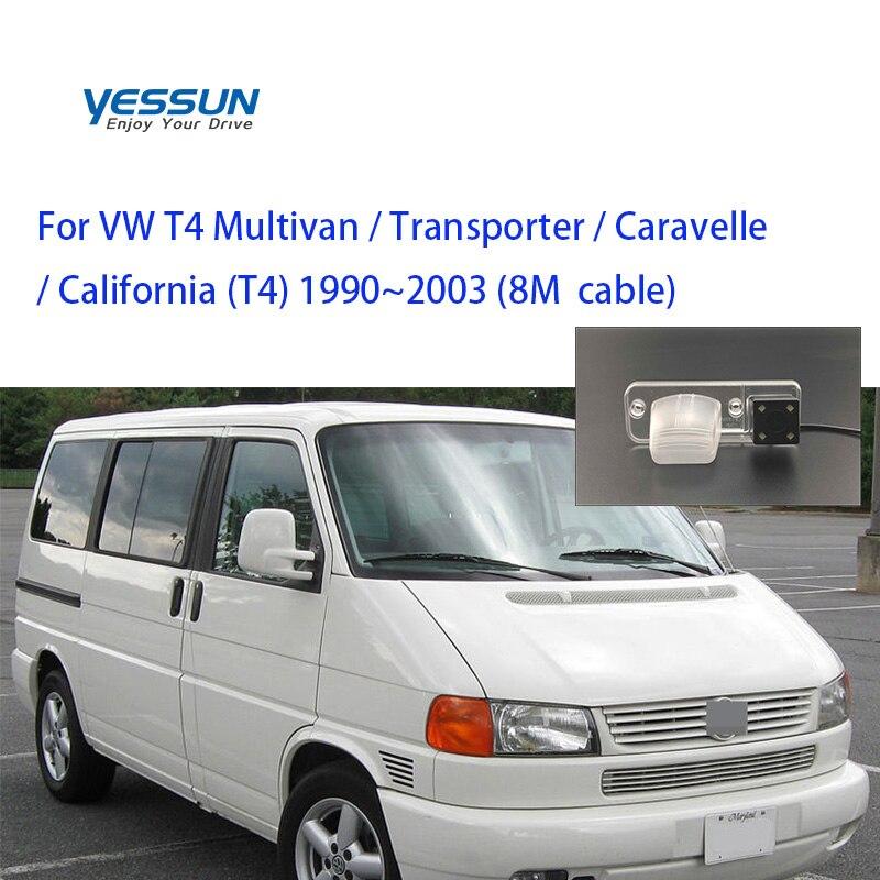 Yessun para Volkswagen VW T4, transportador Multivan, cámara de visión trasera HD CCD para negocios, aparcamiento de coche, marcha atrás
