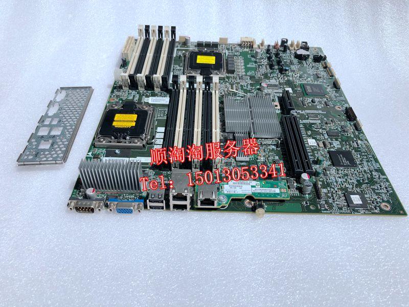 اللوحة الأم x58 للوحة الخادم ، لـ HP DL180G6 ، 608865-001 ، 507255-001 ، 56 Series