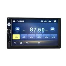 "Carplay Android AUTO 2 din car radio Touch Screen Player mirror link MP5 SD/FM/USB/AUX/Bluetooth 7"" HD Car Audio 2DIN #YL1"