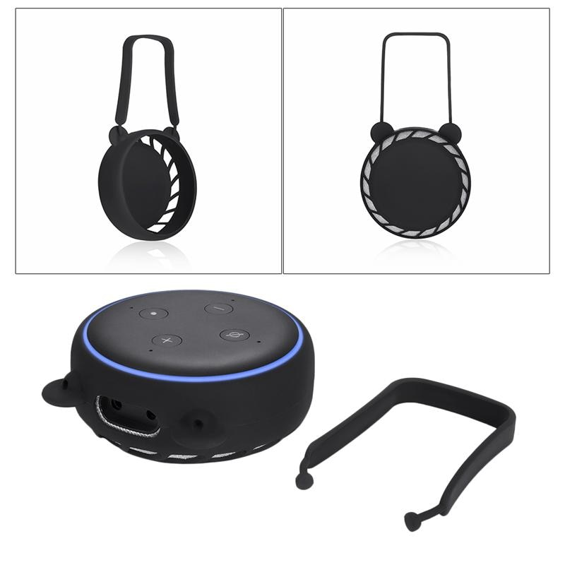 Silicone Speaker Stand Holder Wall Mount Stand Holder Charge for Echo Dot 3