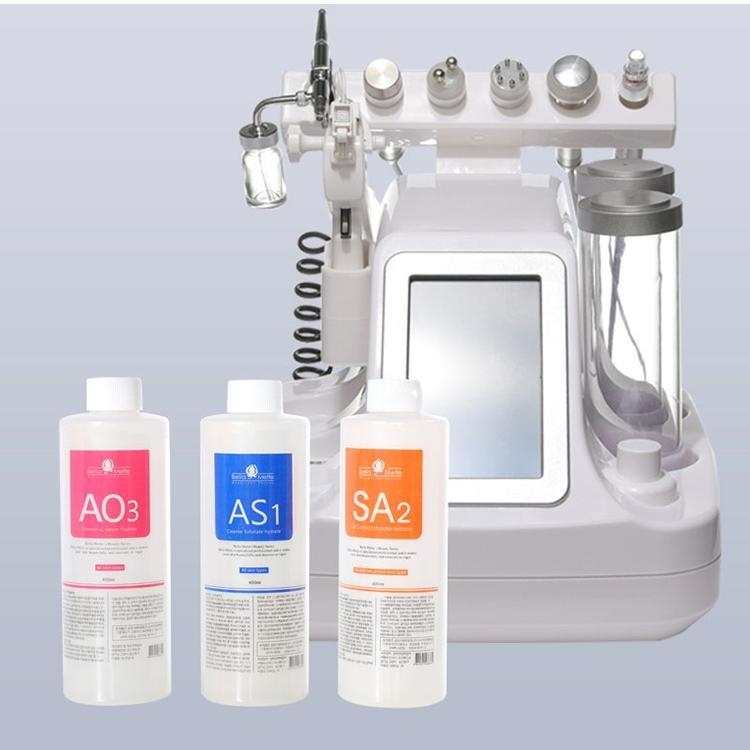 Top Quality hydrafacial machine use aqua peeling solution 400ml per bottle aqua facial serum hydra facial serum for normal skin