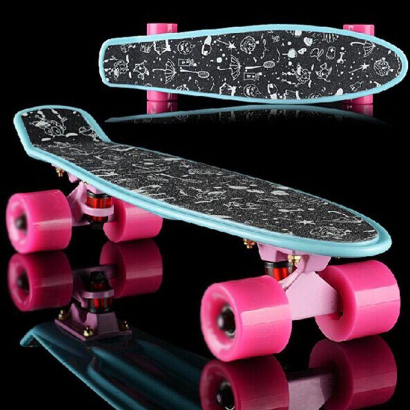 Pegatina para patineta profesional, resistente al agua, papel de lija sólido/impreso para...