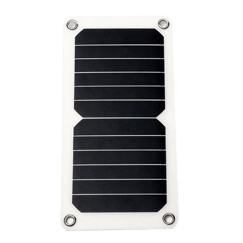 RISE-Dc5 monopatines solares cargador de batería para móvil coche barco Rv,7W