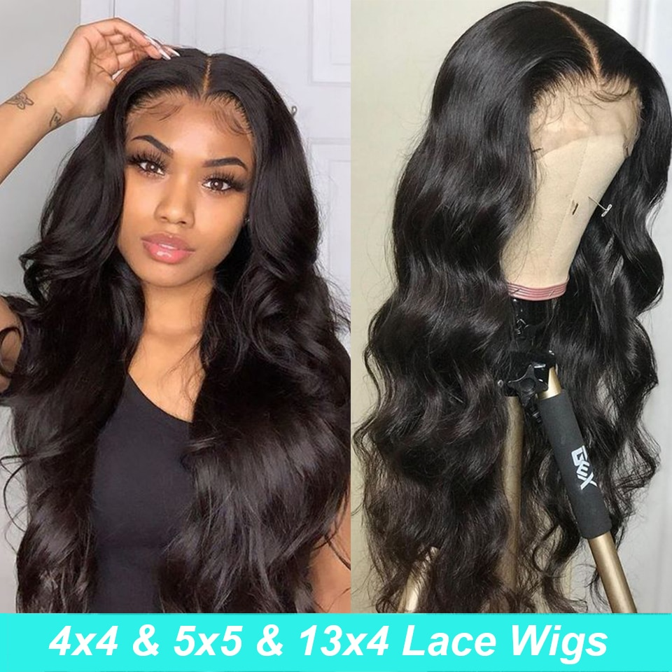 Body Wave Lace Front wig 5x5 Lace Closure Wig 13x4 Lace Front Human Hair Wigs For Black Women Pre Plucked Lace Frontal Wig