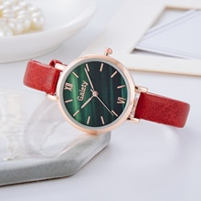 GAIETY relogio Luxury Temperament Ladies Belt Watch Luminous Analog Arabic Digital Quartz Watch ча